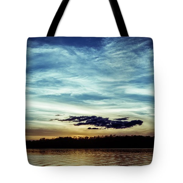 Lake Sunset Tote Bag by Scott Meyer