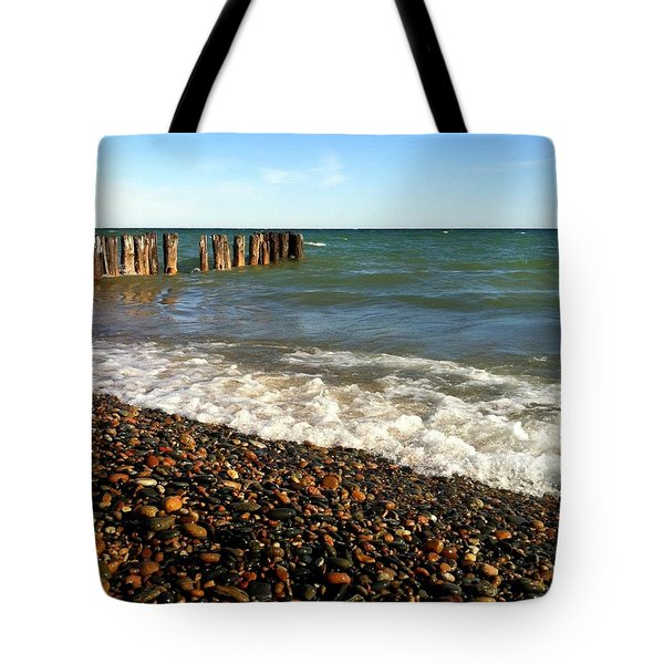 Lake Superior At Whitefish Point Tote Bag