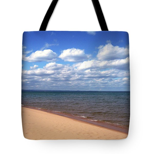 Lake Superior In Summer Tote Bag by Phil Perkins