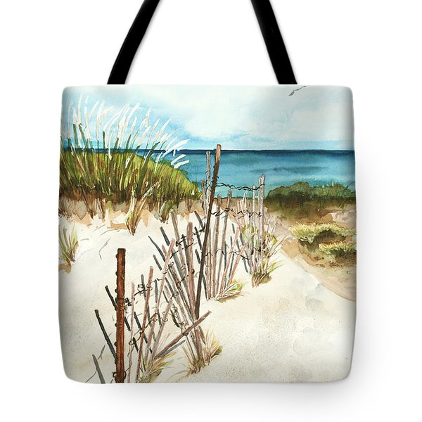 Lake Superior Munising Tote Bag