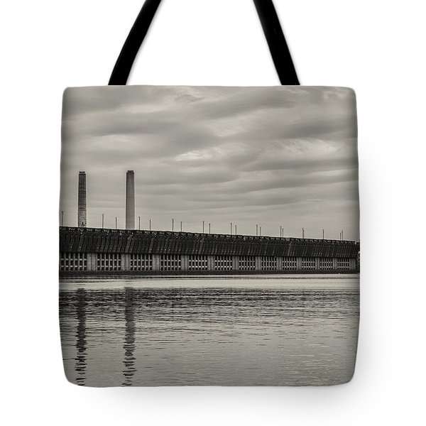 Lake Superior Oar Dock Tote Bag