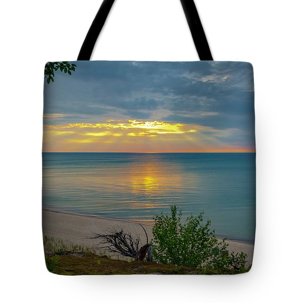 Lake Superior Sunset Tote Bag