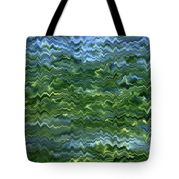 Lake Tahoe Abstract Tote Bag by Carol Groenen