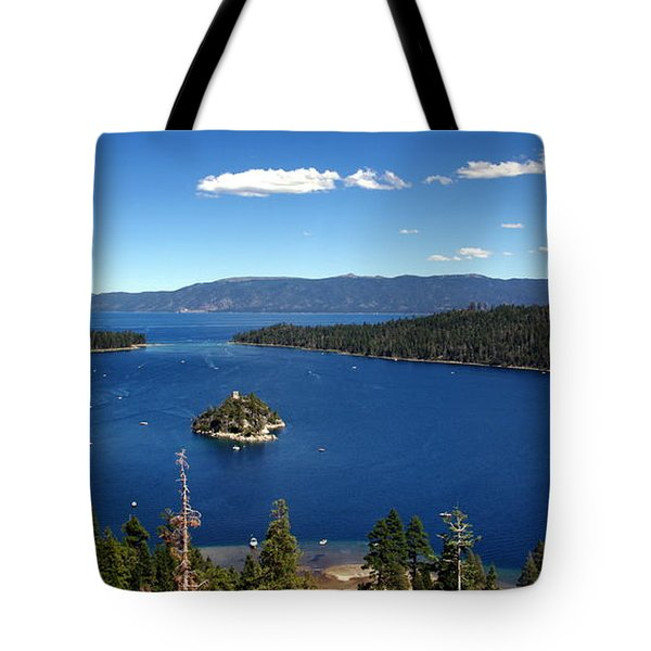 Lake Tahoe Emerald Bay Tote Bag