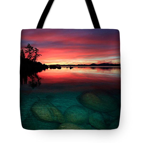 Lake Tahoe Jewels Tote Bag