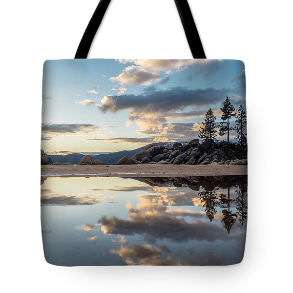 Lake Tahoe Mirror Tote Bag