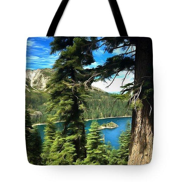 Lake Tahoe Serenity Tote Bag