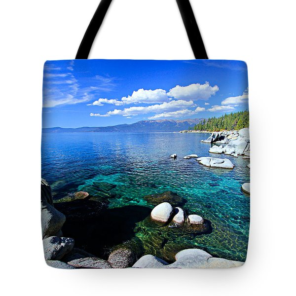 Lake Tahoe Summer Treasure Tote Bag