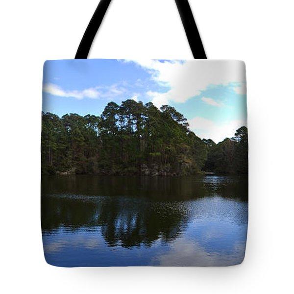 Lake Thomas Hilton Head Tote Bag by Thomas Marchessault