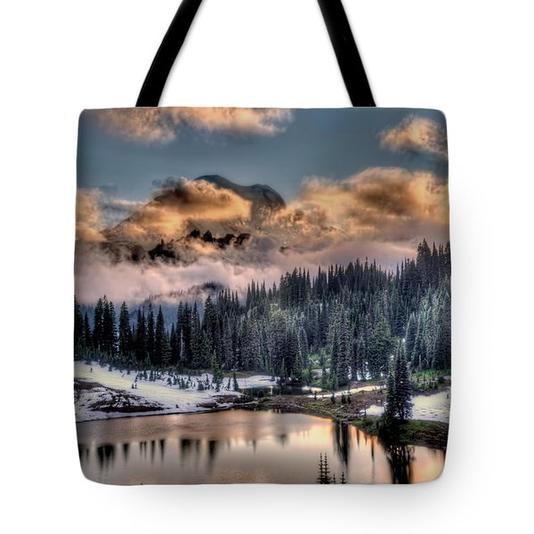 Lake Tipsoo, Mt Rainier Tote Bag