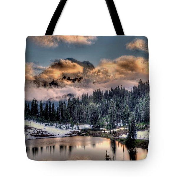 Lake Tipsoo, Mt Rainier Tote Bag