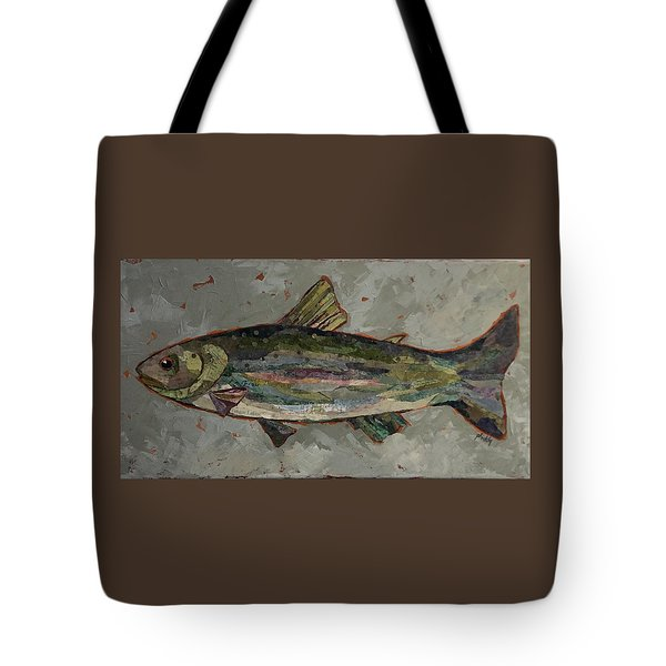 Lake Trout Tote Bag