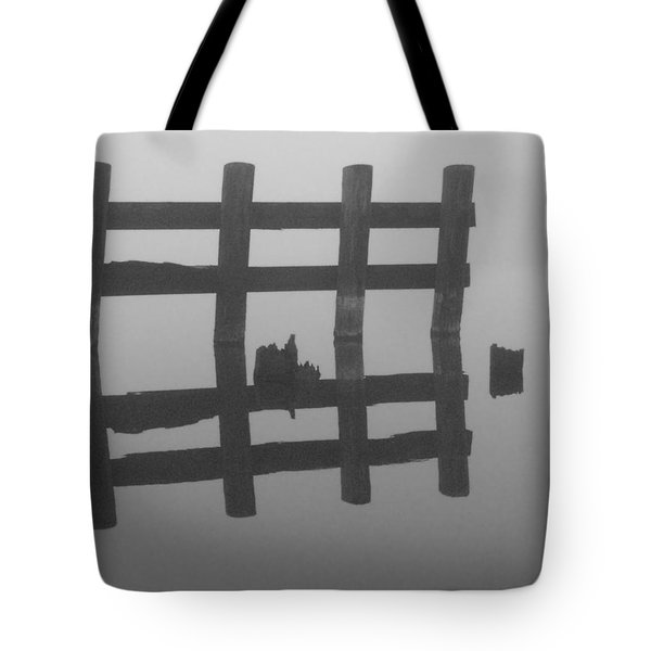 Tote Bag featuring the photograph Lake Union Silhouette by Tom Vaughan