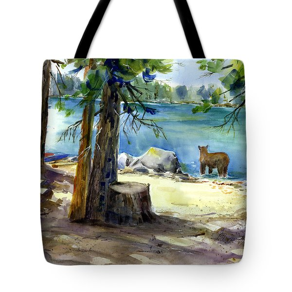 Lake Valley Bear Tote Bag