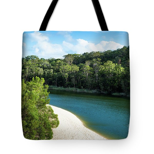 Lake Wabby Tote Bag