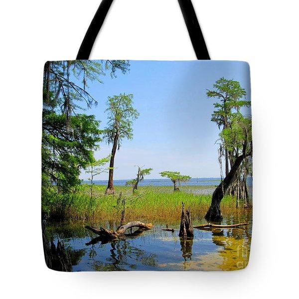 Lake Waccamaw Nc Tote Bag