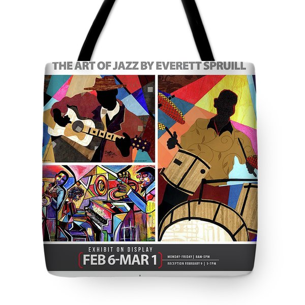 Rhythmic Improvisations - The Art Of Jazz Tote Bag