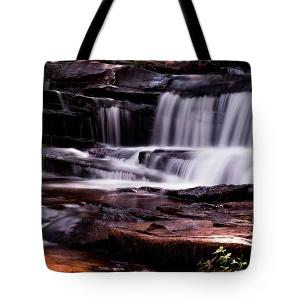 Lake Waterfall Tote Bag