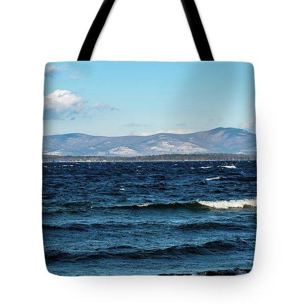Lake Winnipesaukee Tote Bag