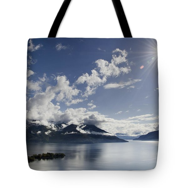 Lake With Islands Tote Bag