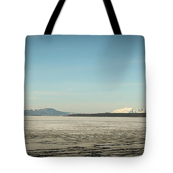 Lake Yellowstone Tote Bag