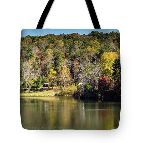 Lake Zwerner, Georgia Tote Bag