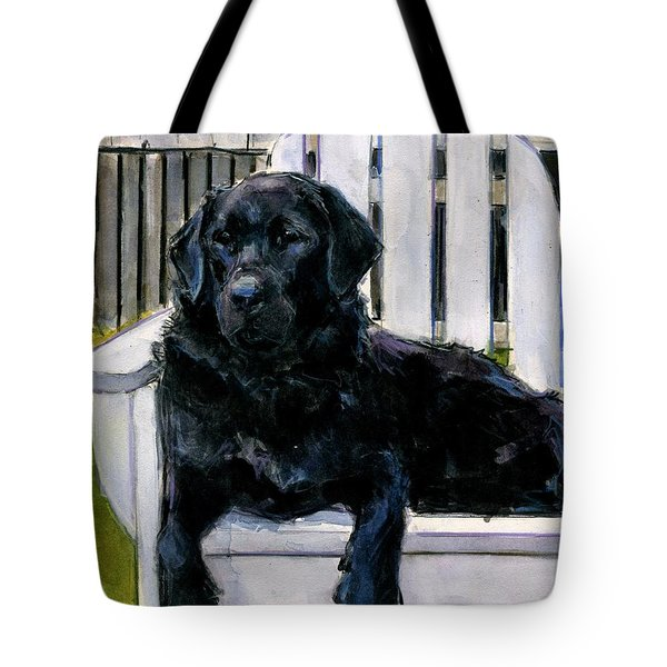 Lakerfront Tote Bag by Molly Poole