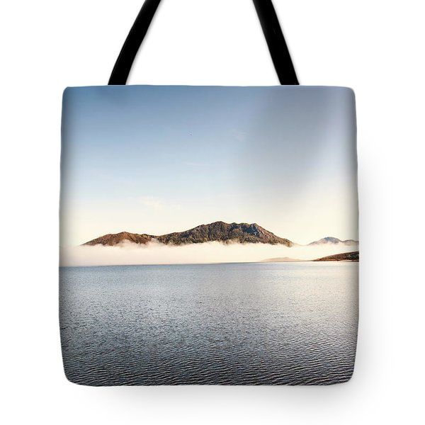 Lakes In Morning View Tote Bag