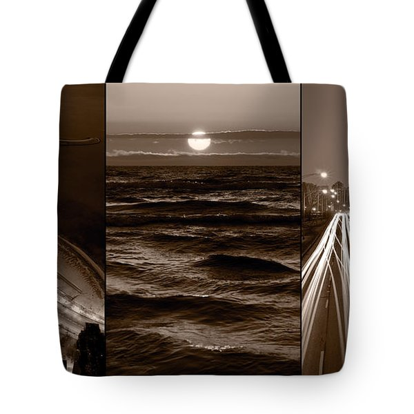 Lakeshore Chicago Tote Bag by Steve Gadomski