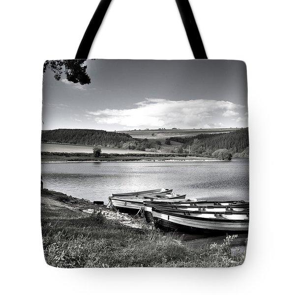 Lakeside Evening Tote Bag