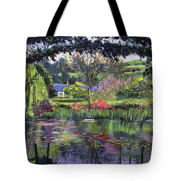 Lakeside Giverny Tote Bag