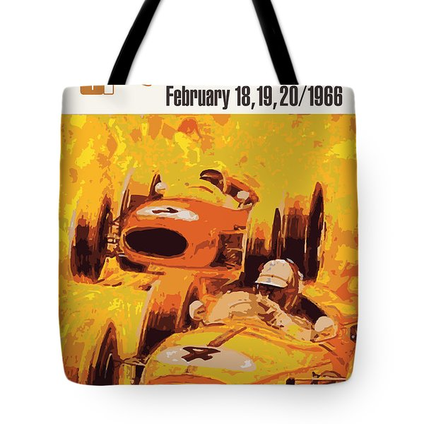 Lakeside Racing Tote Bag by Gary Grayson