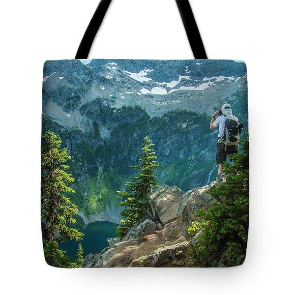 Lakeside View Tote Bag