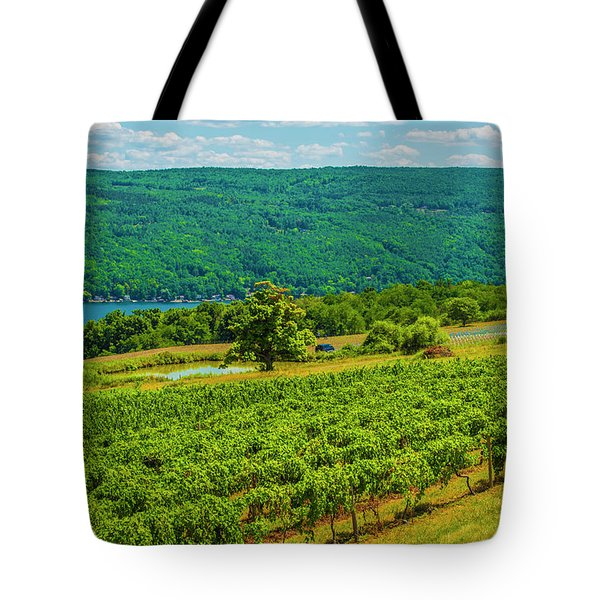 Lakeside Vineyard I Tote Bag