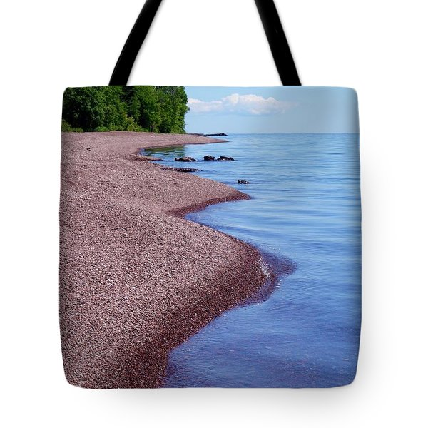 Lakewalk On The Superior Hiking Trail Tote Bag
