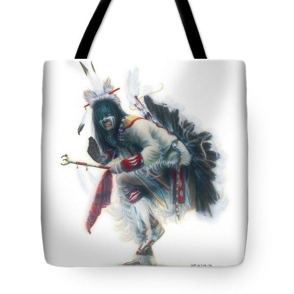 Lakota Dancer Tote Bag
