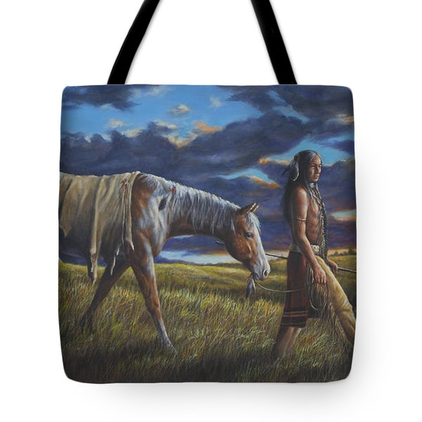 Lakota Sunrise Tote Bag