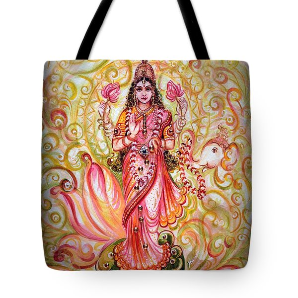 Lakshmi Darshanam Tote Bag