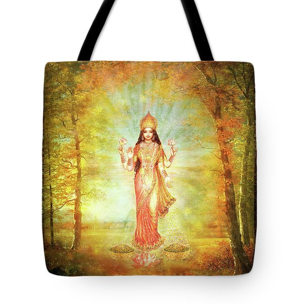 Lakshmi Vision In The Forest  Tote Bag