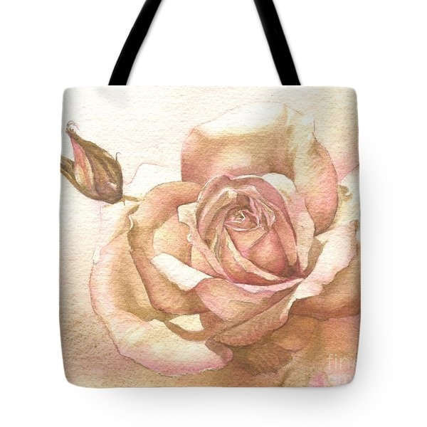 Lalique Rose Tote Bag
