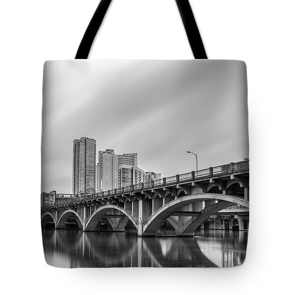 Lamar Bridge In Austin, Texas Tote Bag