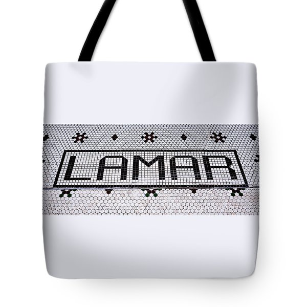 Tote Bag featuring the photograph Lamar by Stephen Stookey