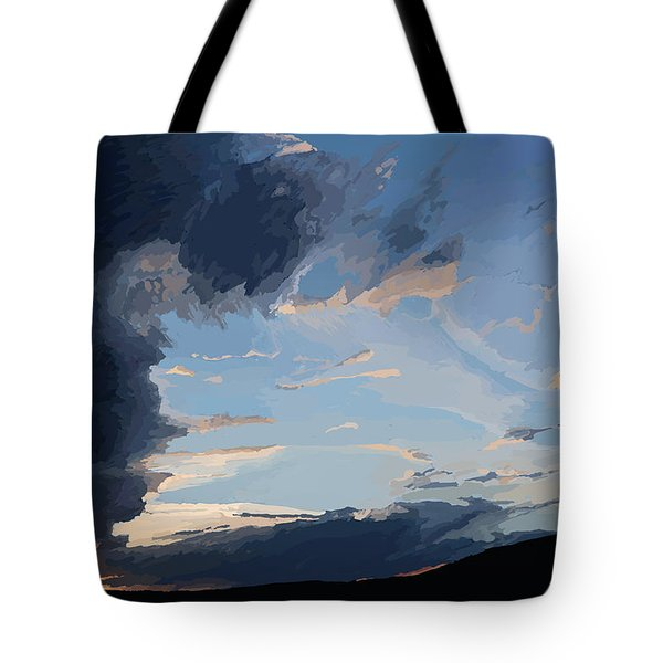 Lamar Sunset Tote Bag