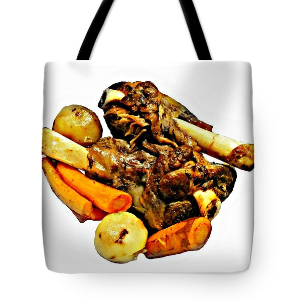 Mom's Lamb Stew Tote Bag