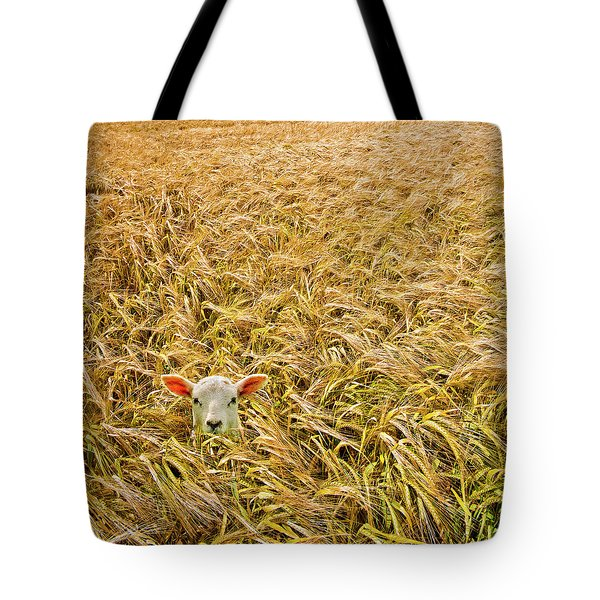 Lamb With Barley Tote Bag