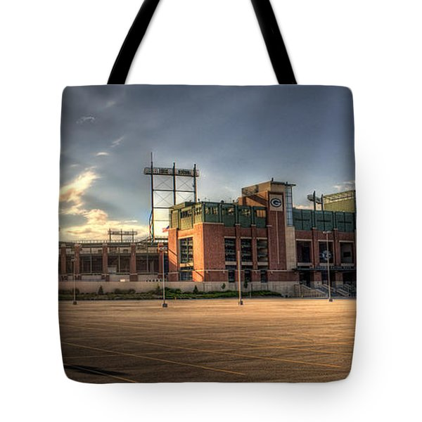 Lambeau Field Tote Bag