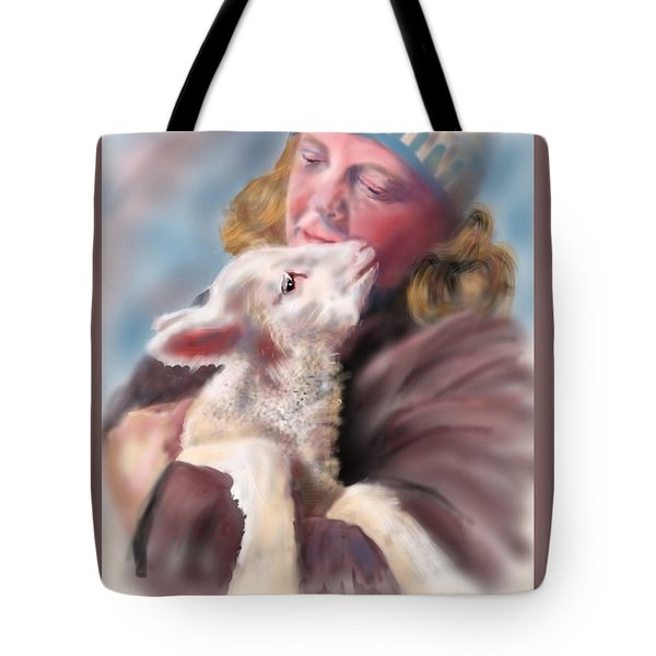 Lambie Love Tote Bag