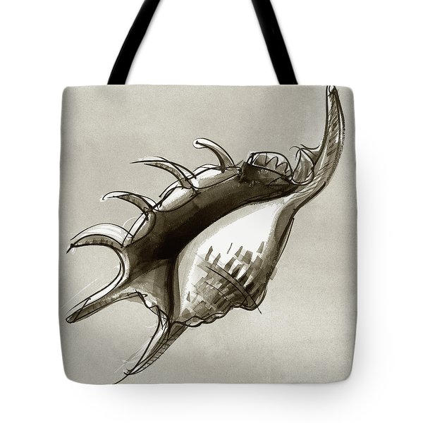 Lambis Shell Tote Bag