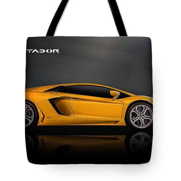 Lamborghini Aventador Tote Bag
