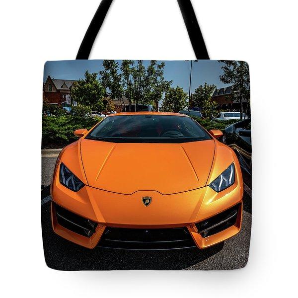 Lamborghini Huracan Tote Bag